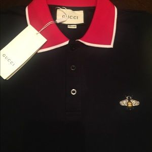 7ed15a0f Gucci Shirts   Bumblebee Collar Shirt   Poshmark